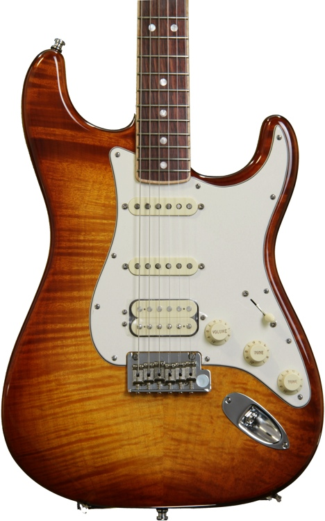 Fender American Select Stratocaster HSS - Tobacco Burst image 1