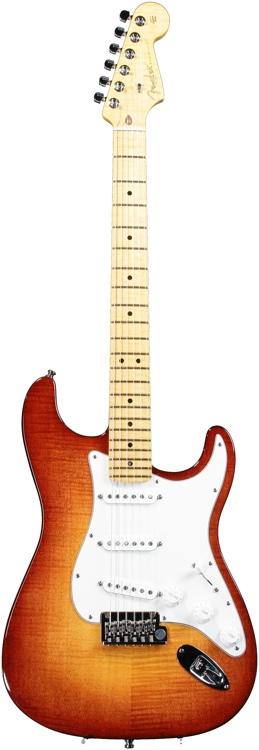 Fender American Select Stratocaster - Dark Cherry Sunburst image 1