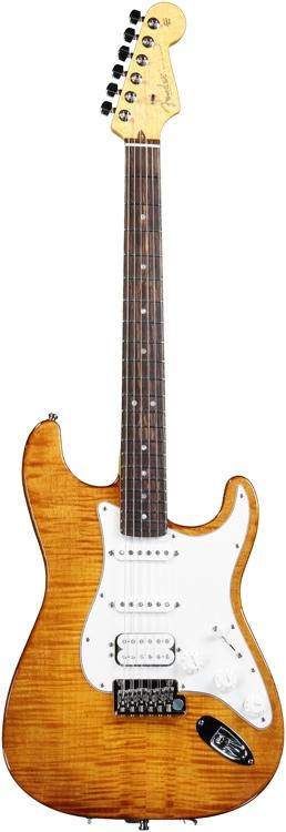 Fender Select Stratocaster HSS - Antique Burst image 1