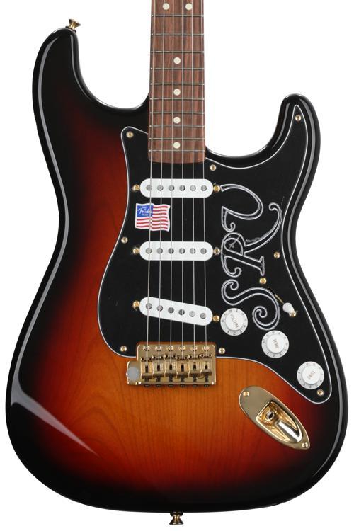 Fender Stevie Ray Vaughan Stratocaster - 3-tone Sunburst image 1
