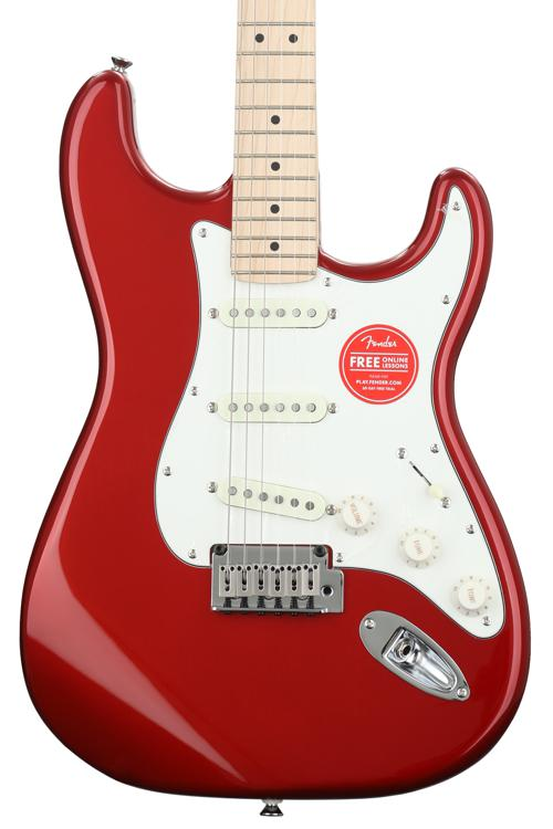 Squier Standard Stratocaster - Candy Apple Red image 1