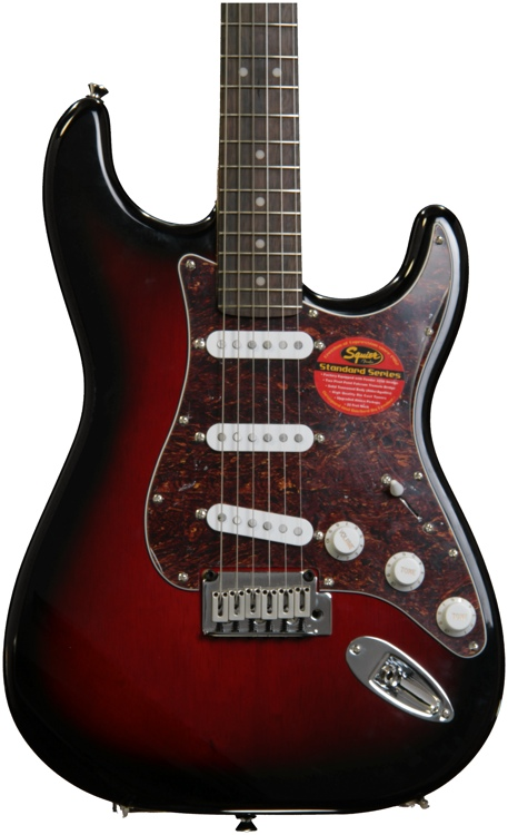 Squier Standard Stratocaster - Antique Burst with Rosewood Fingerboard image 1