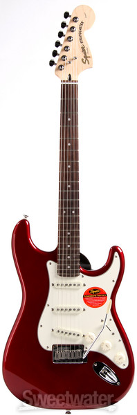 Squier Standard Stratocaster - Candy Apple Red with Rosewood Fingerboard image 1