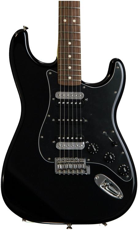 Fender Standard Stratocaster HSH - Black with Rosewood Fingerboard image 1