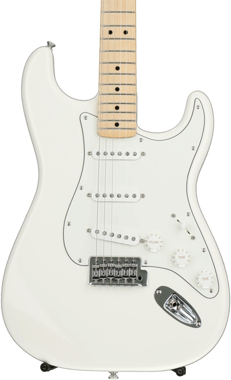 Fender Standard Stratocaster - Arctic White with Maple Fingerboard image 1