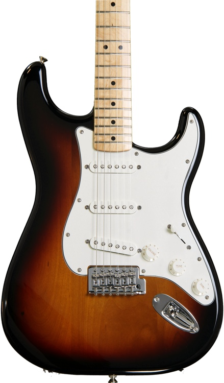 Fender Standard Stratocaster - Brown Sunburst with Maple Fingerboard image 1