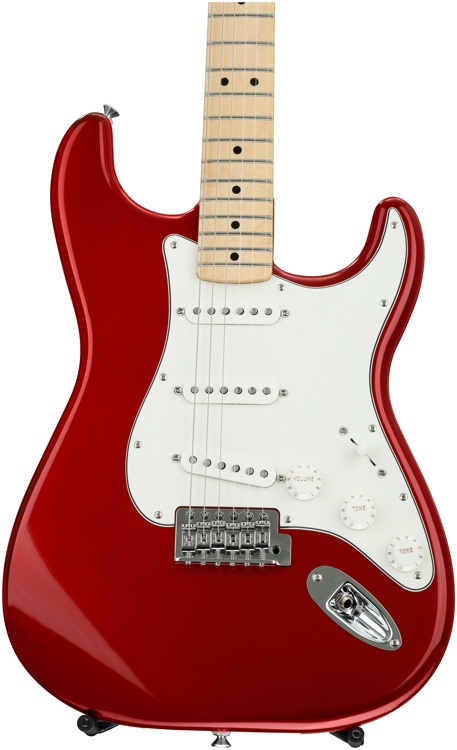Fender Standard Stratocaster - Candy Apple Red with Maple Fingerboard image 1