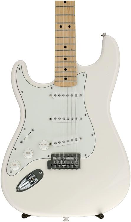 Fender Standard Stratocaster Left-handed - Arctic White with Maple Fingerboard image 1