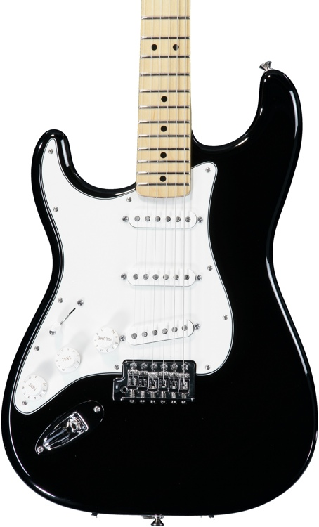 Fender Standard Stratocaster Left-handed - Black with Maple Fingerboard image 1