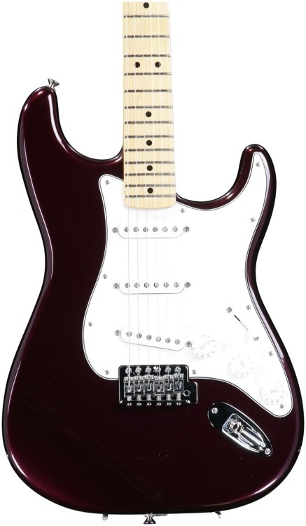 Fender Standard Stratocaster - Midnight Wine, Maple image 1