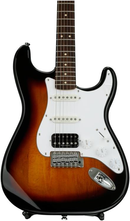 Squier Vintage Modified Stratocaster HSS - 3-tone Sunburst image 1
