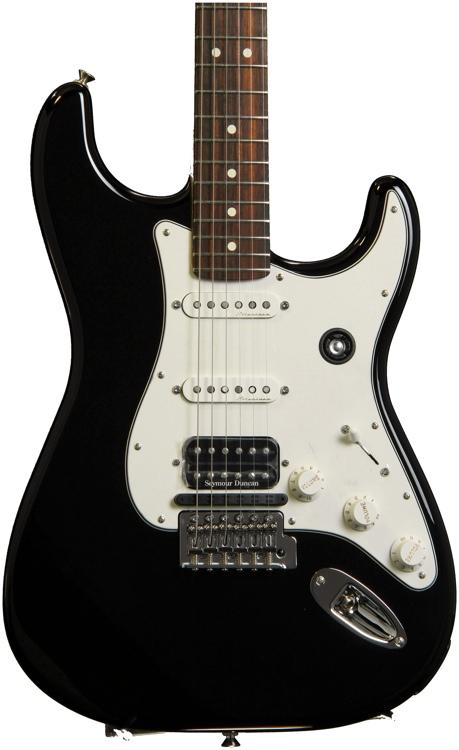 Fender Fishman TriplePlay Stratocaster HSS - Black image 1