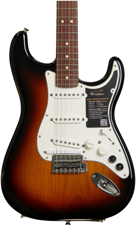 Roland G-5 VG Stratocaster - 3 Tone Sunburst image 1