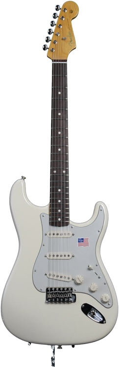 Fender Vintage Hot Rod \'62 Stratocaster - Olympic White image 1