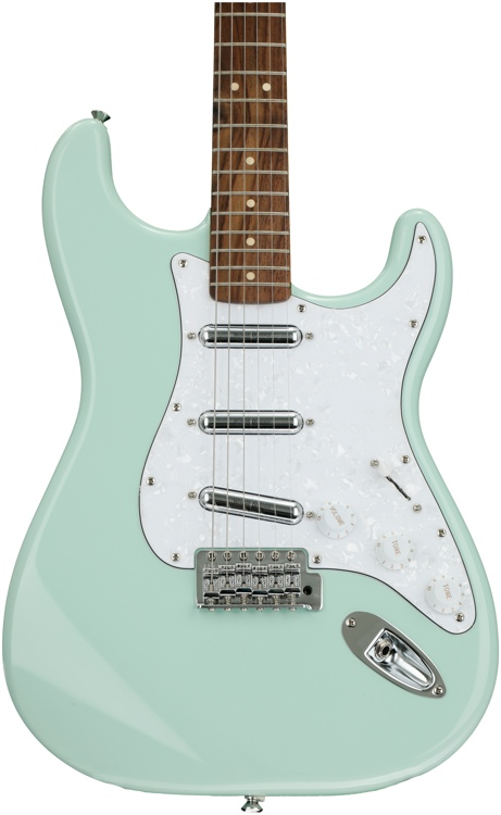 Squier Vintage Modified Surf Stratocaster - Surf Green image 1