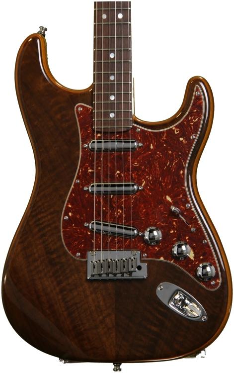 Fender Custom Shop Walnut Top Artisan Stratocaster - Buckeye with Rosewood Fingerboard image 1