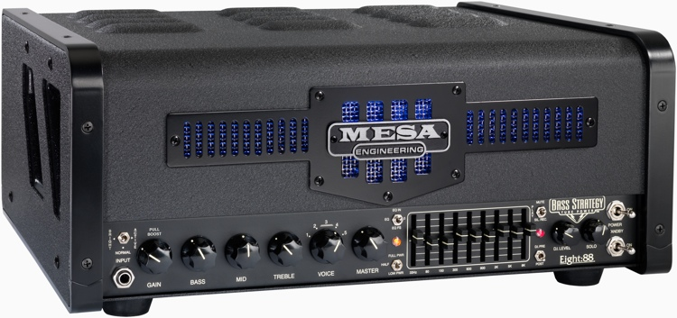 Mesa/Boogie Bass Strategy Eight:88 - 465-Watt Bass Head image 1
