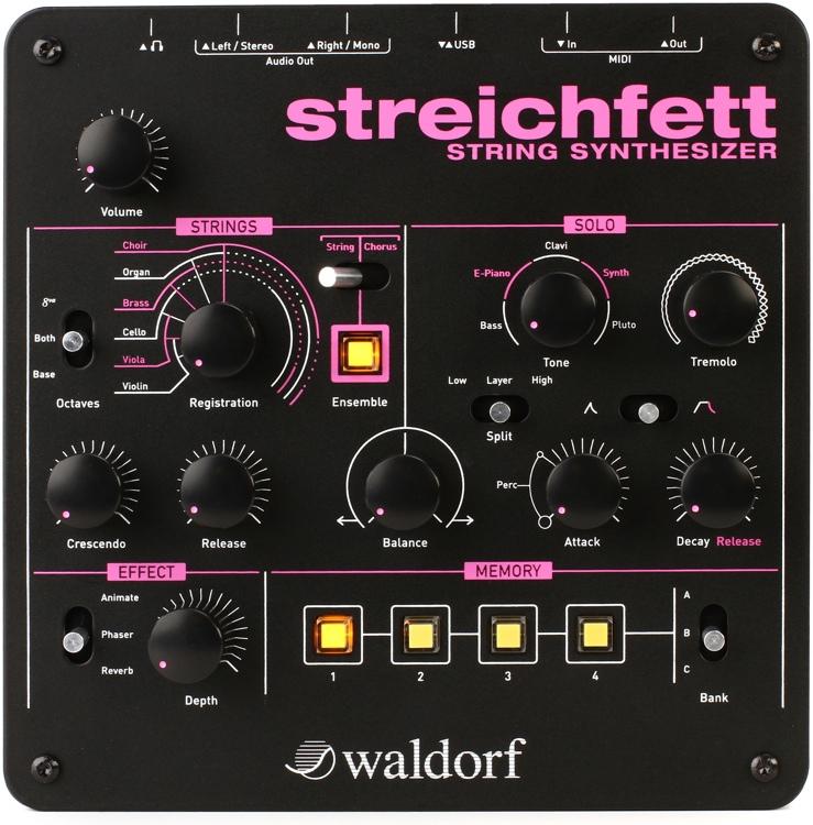 Waldorf Streichfett String Synthesizer image 1