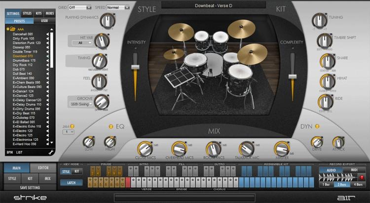 AIR Strike 2 Virtual Drummer Instrument image 1