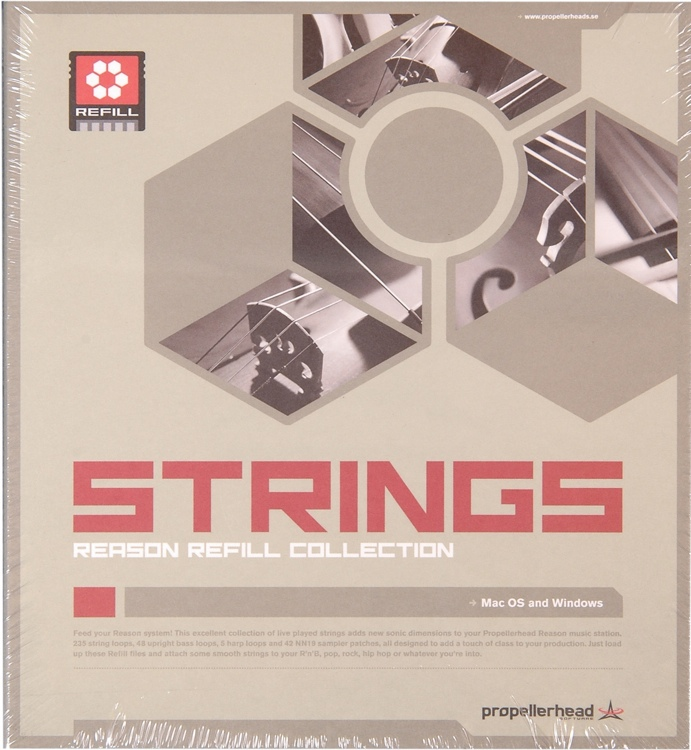 Propellerhead Reason Strings ReFill image 1