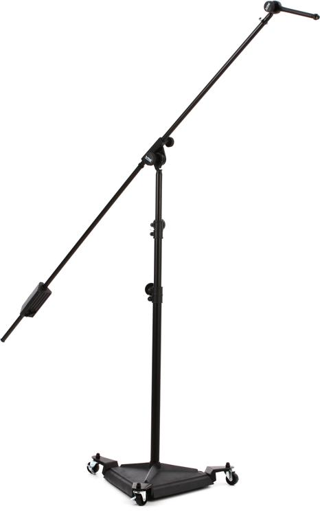 On-Stage Stands SMS7650 Hex Base Studio Boom Mic Stand image 1