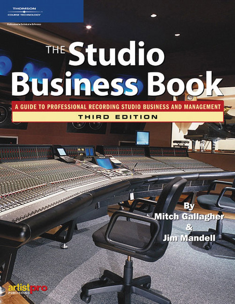 Thomson Course Technology The Studio Business Book - 3rd Edition image 1