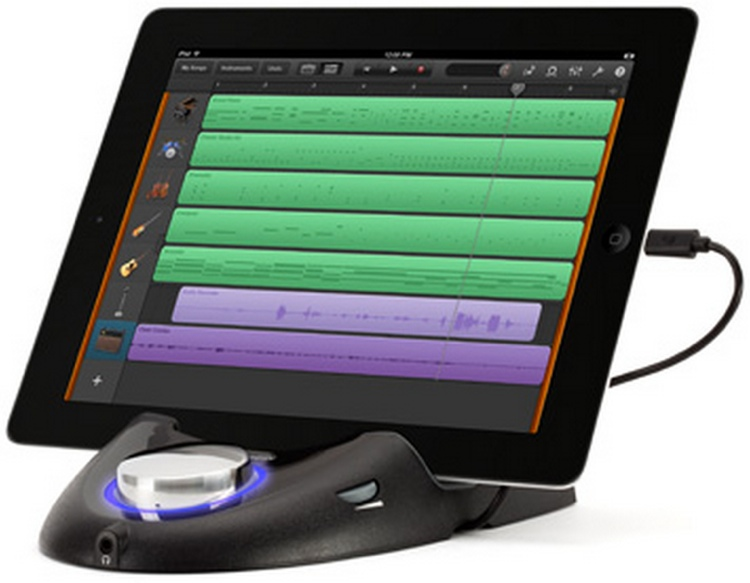 Griffin StudioConnect with Lightning - iPad Dock w/ Audio & MIDI image 1