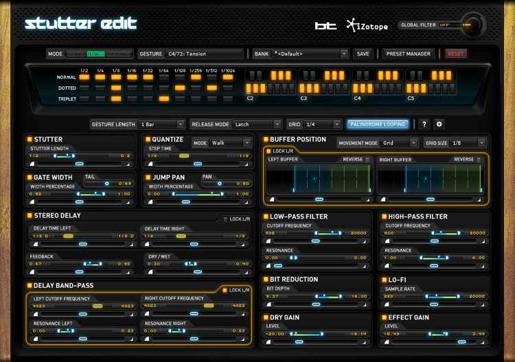 iZotope Stutter Edit Performance Effect Plug-in - Academic Version image 1