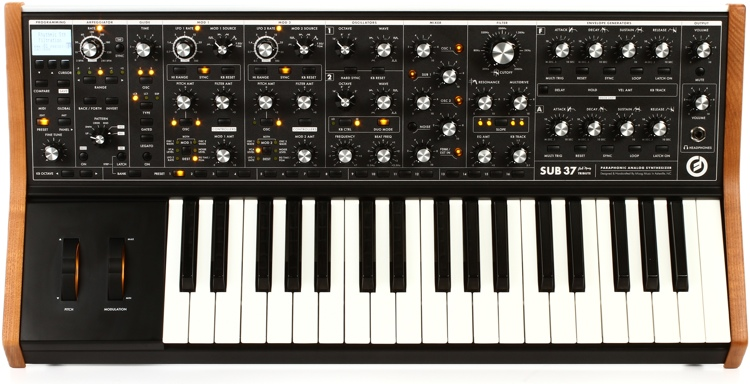 Moog Sub 37 Tribute Edition Analog Synthesizer image 1