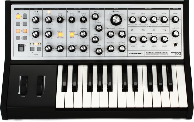 Moog Sub Phatty Analog Synthesizer image 1