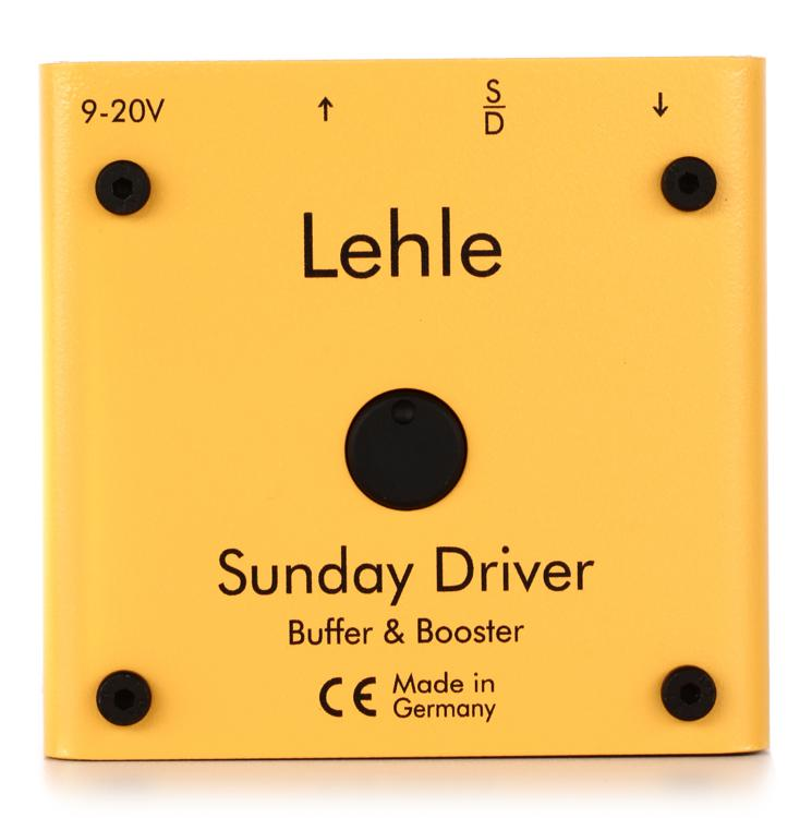 Lehle Sunday Driver Buffer and Booster Pedal image 1