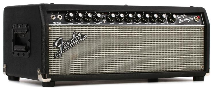 Fender Super Bassman Head - 300W Tube Bass Head - Black image 1