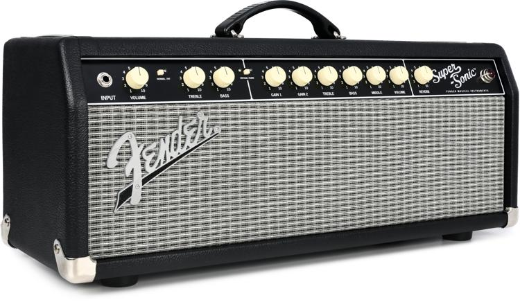 Fender Super-Sonic 22 - 22-watt Tube Head - Black image 1