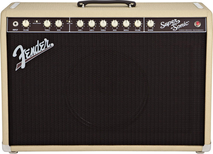 Fender Super-Sonic 60 - Blonde image 1