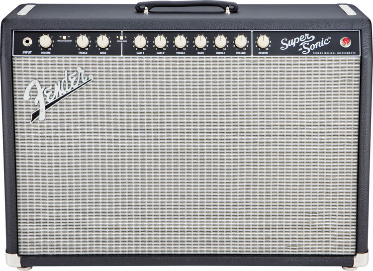 Fender Super-Sonic 60 - Black image 1