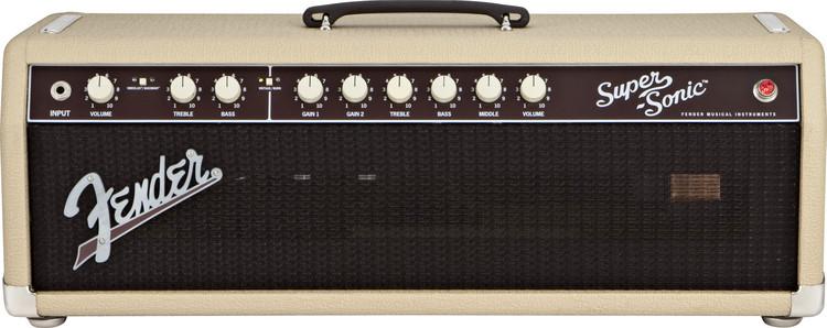 Fender Super-Sonic 60 Head - Blonde image 1