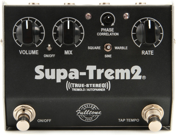 Fulltone Custom Shop Supa-Trem2 Stereo Tremolo Pedal image 1