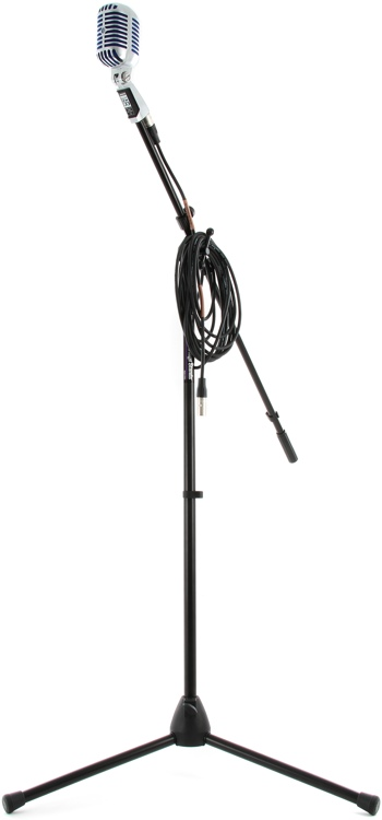 Shure Super 55 Deluxe Mic Month 2013 Bundle - With Stand & Cable image 1