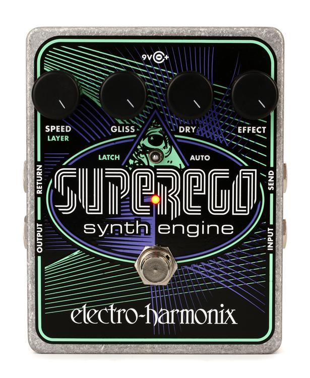 Electro-Harmonix Superego Polyphonic Synth Engine Pedal image 1