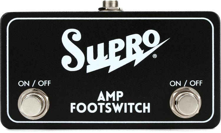 Supro SF2 Tremolo and Reverb Footswitch image 1
