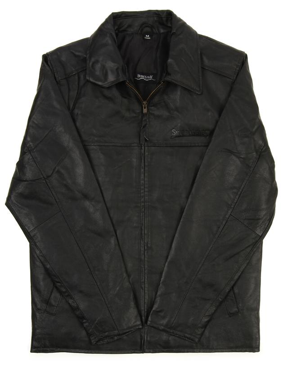 Sweetwater Napa Leather Driving Jacket - Black, Large image 1