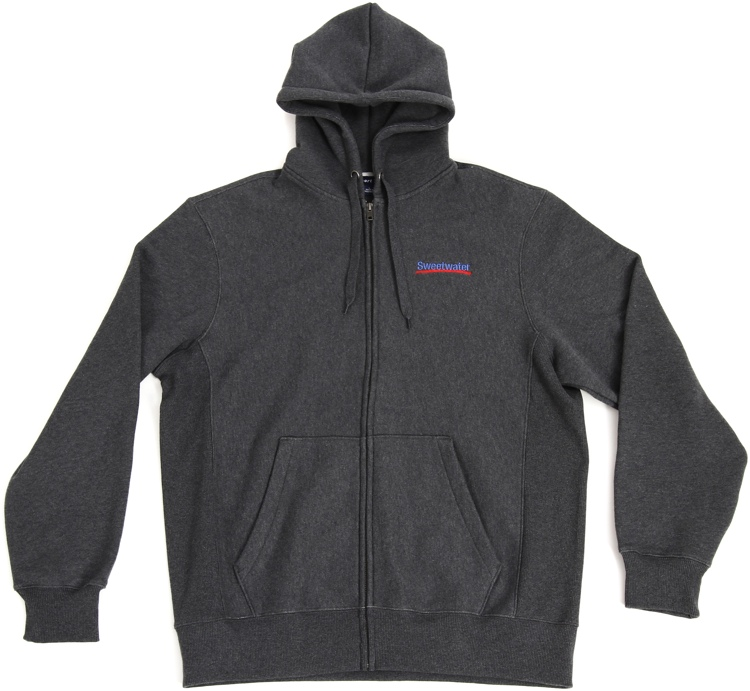 Sweetwater Zip-up Hoodie - Gray, XL image 1