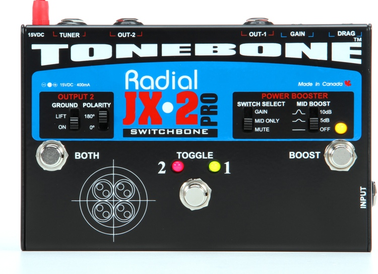 Radial JX-2 Switchbone AB-Y Amp Selector/Combiner image 1