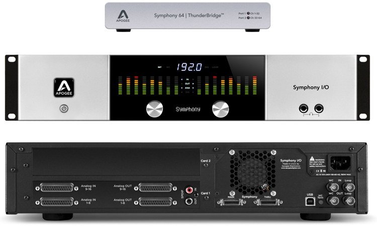 Apogee Symphony I/O 16x16 System + ThunderBridge Bundle image 1