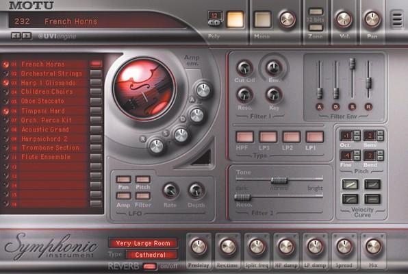 MOTU Symphonic Instrument image 1