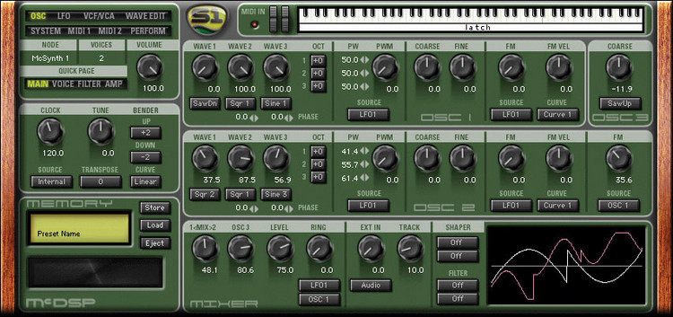 McDSP Synthesizer One - HD image 1