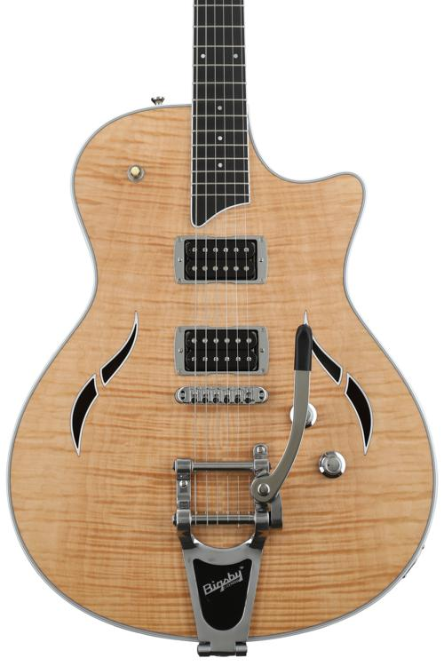 Taylor T3/B Semi-hollowbody with Bigsby - Natural image 1