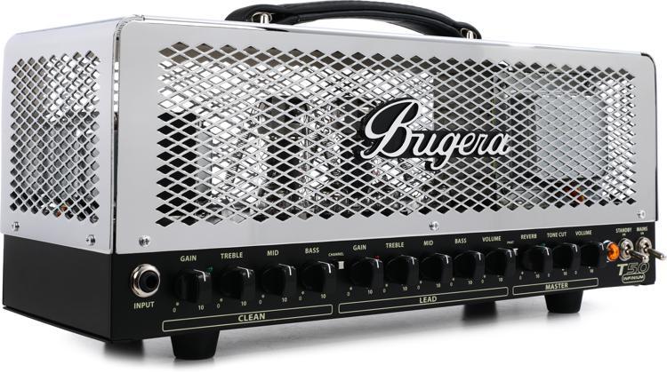 Bugera T50 Infinium 50-watt 2-channel Class-A Tube Head image 1