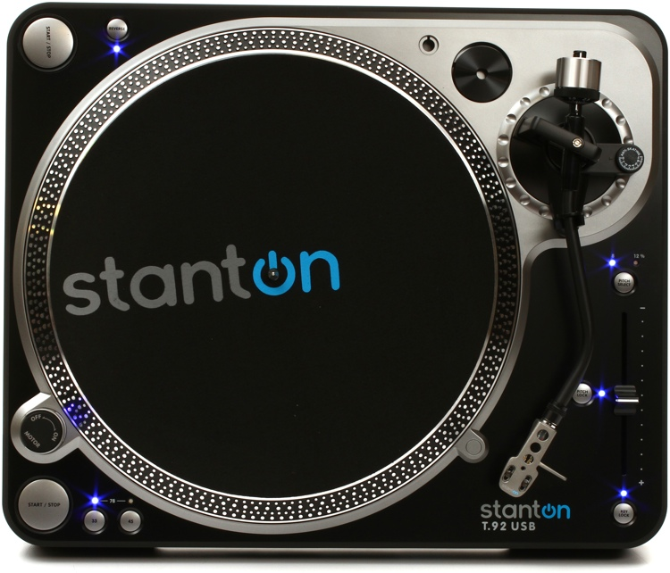 Stanton T.92 USB Turntable image 1