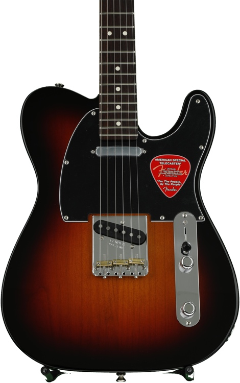 Fender American Special Telecaster, Bone Nut Upgrade, Plek\'d - 3-tone Sunburst, with Rosewood Fingerboard image 1